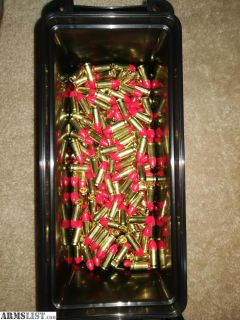 For Sale: 500rd Federal 124gr 9mm synthetic jacket in ammo can