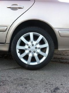 $550 Brand new Mercedes wheels and pirelli tires 18'