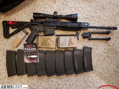For Sale: Sig Sauer 516 w/ extras
