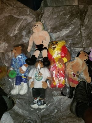 WWE Teddy Bears