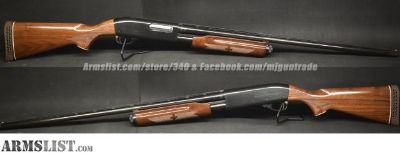 For Sale: USED Remington 870 Wingmaster in 20ga, 2-3/4""
