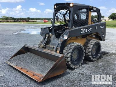 2013 John Deere 320D Skid-Steer Loader