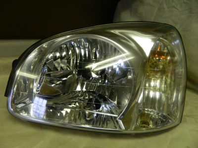 Find OEM 2001-2003 HYUNDAI SANTA FE LEFT/ DRIVER SIDE HALOGEN HEADLIGHT motorcycle in Rockford, Michigan, US, for US $50.00