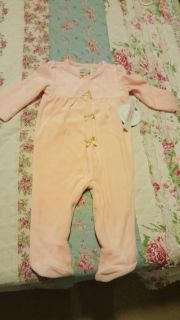 Brand new pink sleeper with tags still on