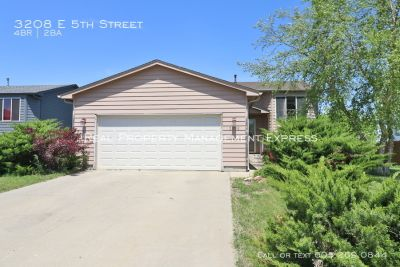 Check out this 4 Bedroom Home for Rent!