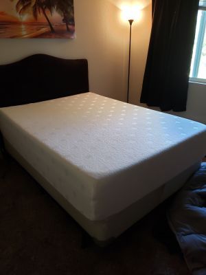Memory foam bed. Full size. 1 year old