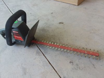 Craftsman hedge trimmer