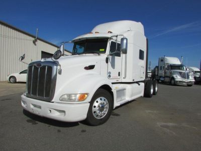 2010 Peterbilt 386 - 100 MILES ON OVERHAUL (White)