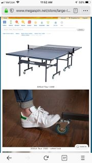 Joola Ping Pong Table/IPONG Trainer & Catch Net