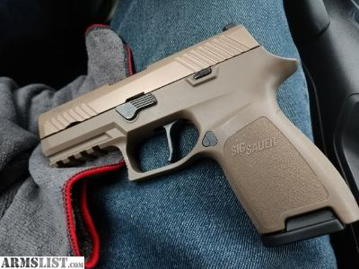 For Sale: Sig P320C FDE with extras