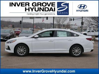 2019 Hyundai Sonata SE (WHITE)