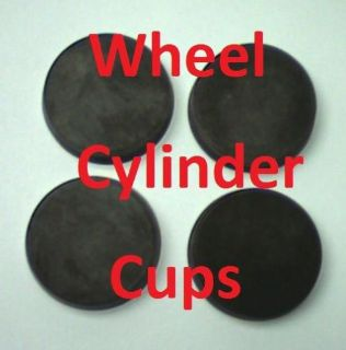 "Purchase Set of 4 Wheel Cylinder Cups 1 1/8"" good for any type of brake fluid!! motorcycle in Duluth, Minnesota, United States, for US $9.95"
