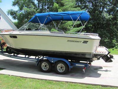 STARCRAFT 'LAKE-ERIE-WORTHY' BOAT FOR SALE