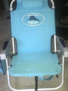 Beach Chair with Accessories