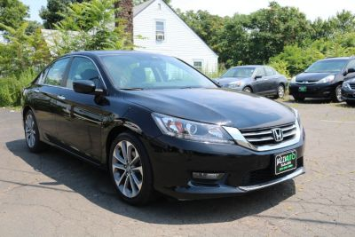 2015 Honda ACCORD SEDAN 4dr I4 CVT Sport (Black)
