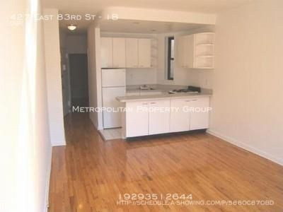 Upper East Side -  $1695 Spacious Studio in a Townhouse With Laundry in Building, June 1st Move-in