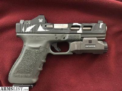 For Sale: Glock 21 heavily modded