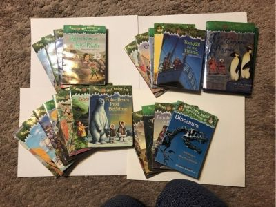 Lot of Magic Tree House Books 24 in total!