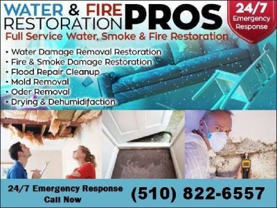 24/7 Water Damage Restoration -Extraction Removal & Cleanup
