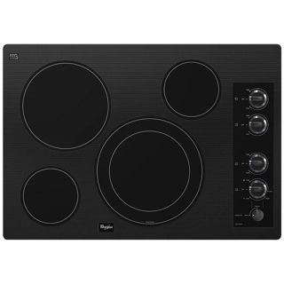 Whirlpool Black or White Electric Glass Cooktop G7CE3034XB/P Closeout