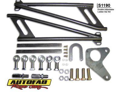 Autofab Adjustable Ladder Bar Kit-Complete