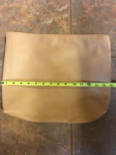 Free People like New clutch 15 X 12 (or laptop bag)