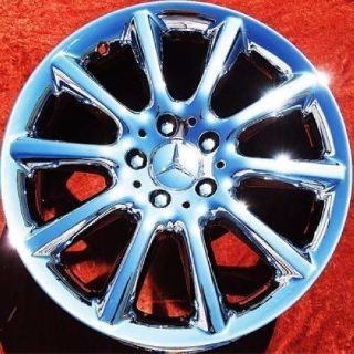 "Sell 18"" MERCEDES BENZ SL550 SL500 SL600 OEM WHEELS RIMS CHROME 65453 motorcycle in Fountain Valley, California, United States, for US $1,495.00"