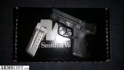 For Sale: S&W shield 9mm w/ night sight