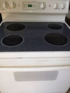 GE Glass Top Stove Range