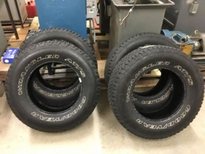 Find (4) Goodyear Wrangler AT/S P265/70R17 motorcycle in Watertown, Connecticut, United States, for US $400.00