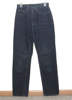 Sloane St HIGH Rise Straight MOM Cigarette Denim Jeans Womens 6 x 32