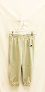NEW ADIDAS Little Boys Grey Baseball Pants