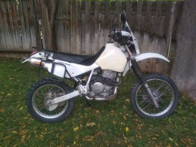 Honda XR650L Adventure bike