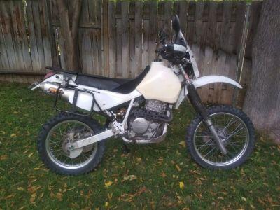 Honda XR650L Adventure bike