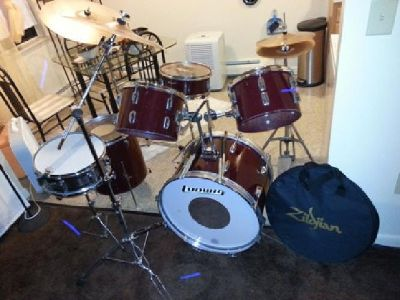 Rockers Ludwig drum set
