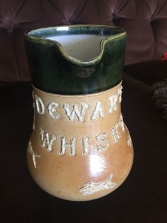 Antique Dewar s Whisky advertising jug