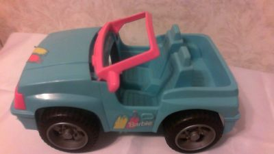 Barbie toy Jeep