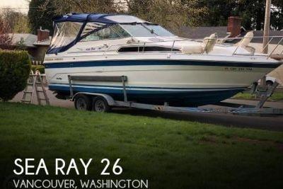 1989 Sea Ray 26