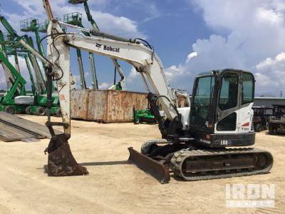 2012 Bobcat E80A Mini Excavator