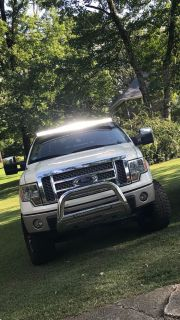 Rough Country 54 led light bar with mount