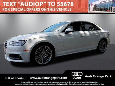 2018 Audi A4 2.0T (white)