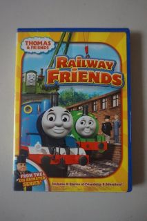 Thomas and Friends Railway Friends DVD Movie