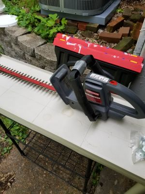 """20"""" electric hedge trimmer"""