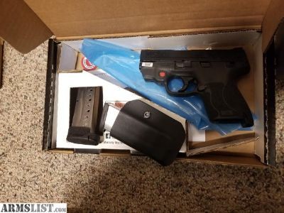 For Sale/Trade: M&p shield 9mm m2.0 with red laser