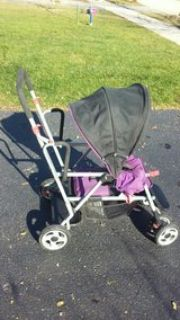 Two-seat Baby Stroller