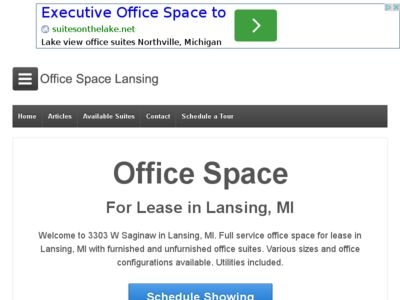Office for Rent in Lansing, Michigan, Ref# 2840071