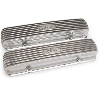 Find Edelbrock 4130 Pontiac 301-455 Finned Valve Covers motorcycle in Suitland, Maryland, US, for US $239.83