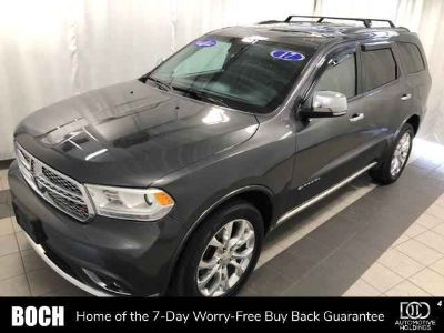 Used 2017 Dodge Durango AWD