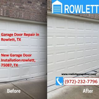 Specialized Roll Up Door Repair and Installation $25.95 | Rowlett, Dallas