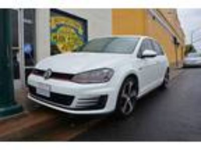 2015 Volkswagen Golf GTI S 4dr Hatchback 6A White, Bluetooth, Htd Seats